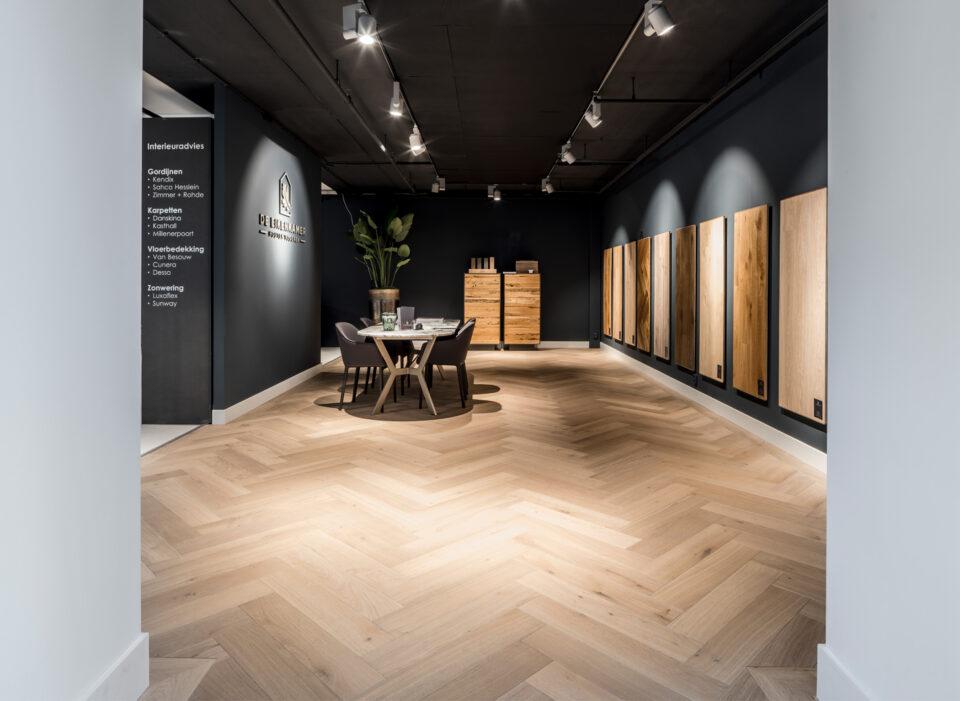 De Eikenkamer showroom houten vloeren